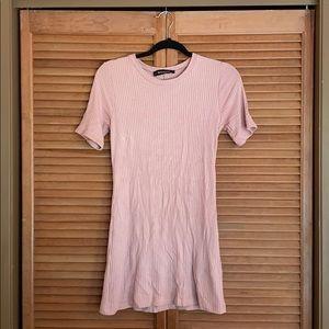 Blush Reformation dress, never worn, size S